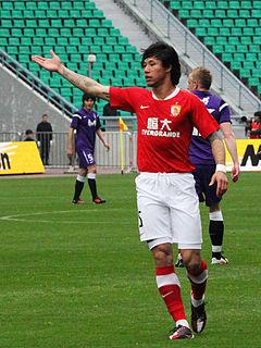 Zhang Linpeng Chinese footballer