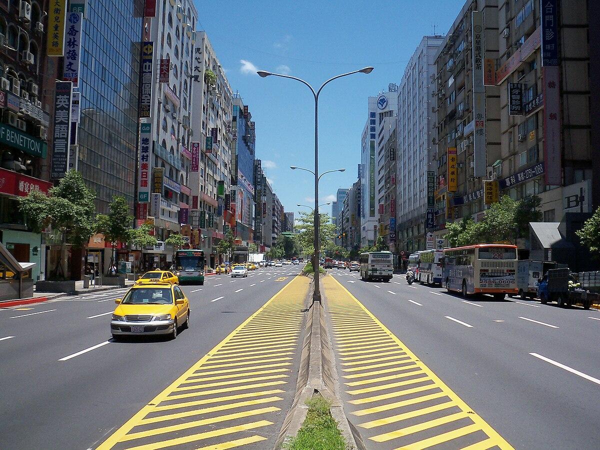 Zhongxiao Road - Wikipedia