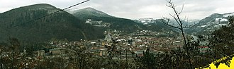 Prijepolje - The town of Prijepolje - center of Prijepolje municipality.
