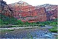 Zion NP, First Light on Virgen River 5-1-14k (14396500603).jpg