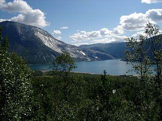 Sørfold - Kobbvatnet lake, Sørfold