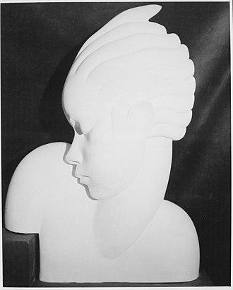 """William Artis - Image: """"A Decorative Head"""" NARA 559036"""