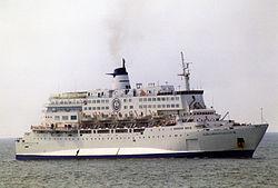 Al-Salam Boccaccio 98 off Genoa, July 2001
