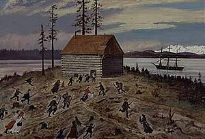 "Battle of Seattle (1856) - ""Battle of Seattle"", Emily Inez Denny"