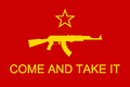 """Come and take it"" Socialist Rifle Association Flag.png"
