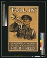 """Fall in"" Answer now in your country's hour of need LCCN2003668196.tif"