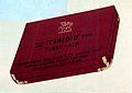 """""""Tabloid"""" Brand red first aid box. Wellcome L0025820.jpg"""