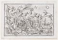 'Anno 1690' (the Year 1690), with numerous warring figures clambering on and hanging from the numbers, allusions to the Four Elements and the Four Continents MET DP860327.jpg