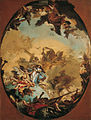 'The Coronation of the Virgin', oil on canvas painting by Giovanni Battista Tiepolo.jpg