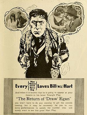 The Return of Draw Egan - Advertisement