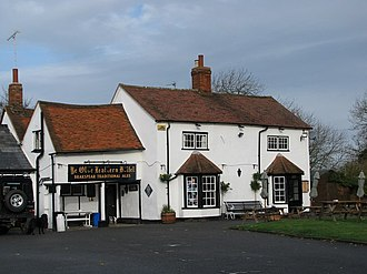 Lewknor - The Leathern Bottle pub