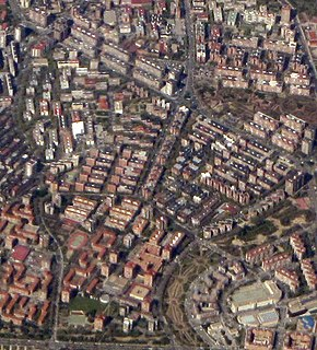 Vinateros City neighborhood in Madrid, Community of Madrid, Spain