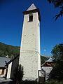Église Saint-Laurent d'Uvernet, clocher (Uvernet-Fours).JPG