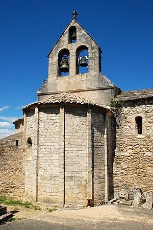 La Baume-de-Transit - The church of Sainte-Croix in La Baume-de-Transit