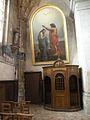 Église de chaumont en vexin tableau bapteme.JPG