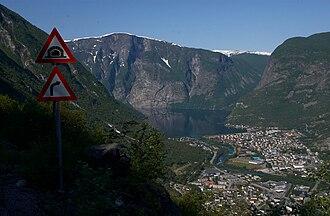 Årdal - Øvre Årdal in early-June 2008