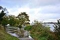 Überflutetes Elbufer Hamburg-Rissen - Orkan Gonzalo (22.10.2014) 02.jpg