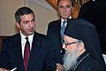 Συνάντηση ΥΠΕΞ Σ. Λαμπρινίδη με τον Αρχιεπίσκοπο Αμερικής κ.κ. Δημήτριο (Νέα Υόρκη, 17.09.2011) (6158675929).jpg