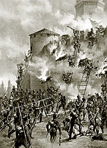 The Battle of Ganja during the Russo-Persian War (Source: Wikimedia)
