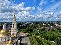 Вид с колокольни Невьянской башни на Заводские окрестности.jpg