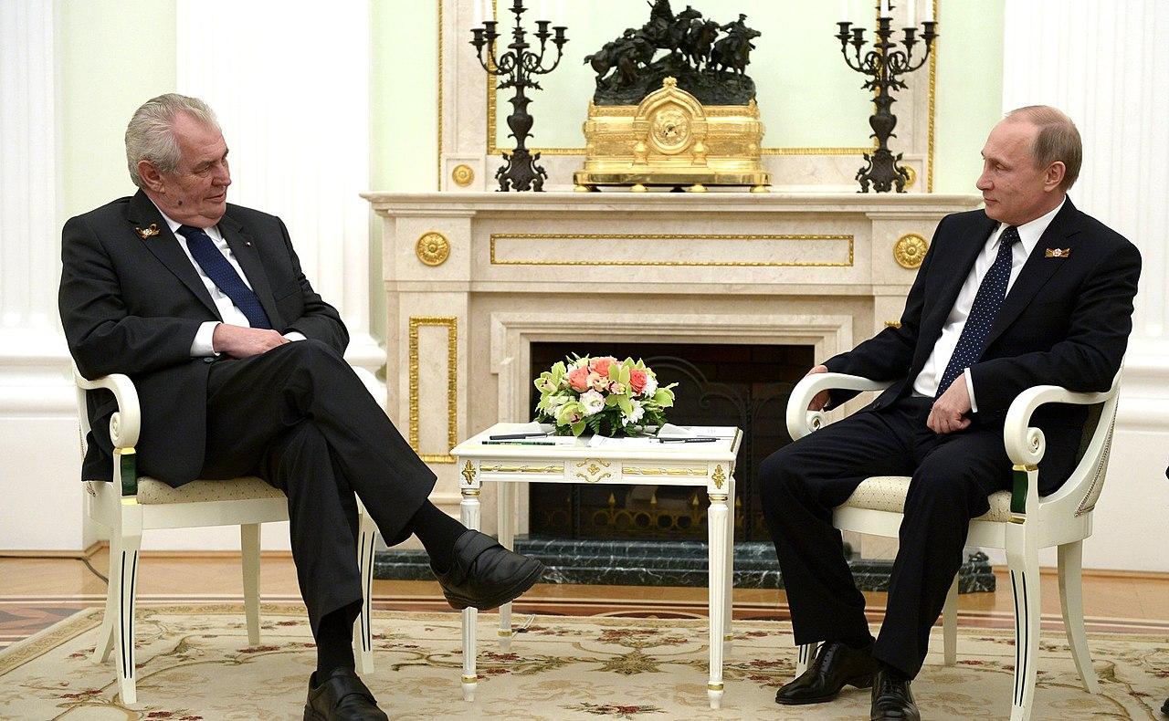Встреча Владимира Путина с Президентом Чехии Милошем Земаном 5.jpg