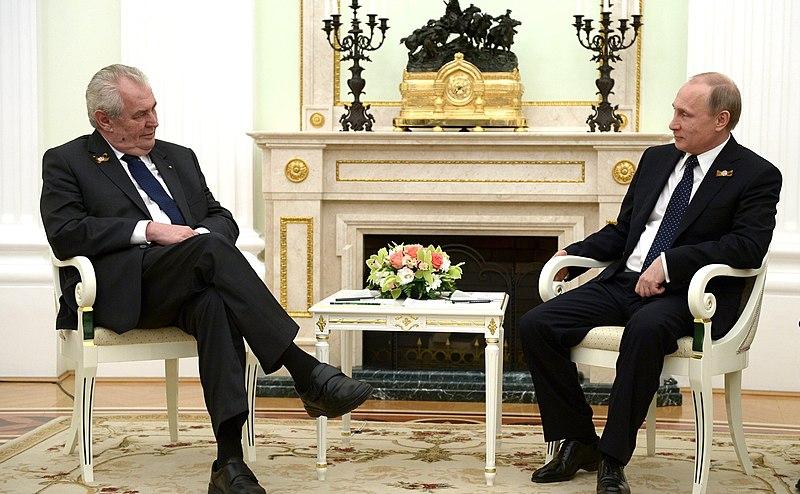 File:Встреча Владимира Путина с Президентом Чехии Милошем Земаном 5.jpg