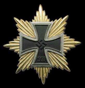 Star of the Grand Cross of the Iron Cross - Image: Голям кръст на Железния кръст