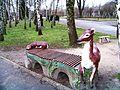 Зоопарк скамейка Лань - panoramio.jpg