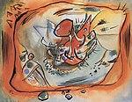 Кандинский Эскиз картины с оранжевой каймой.jpg