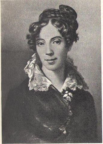 Портрет Марии Андреевны Мойер (Протасовой). <i>Художник К.-А. Зенф, середина 1820-х годов</i>