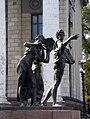 Музы у дома техники, Луганск.JPG