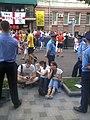 На Рогнідинській у день проведення матчу Євро 2012 у Києві.jpg