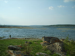 Chebarkulsky District - Lake Chebarkul, Chebarkulsky District