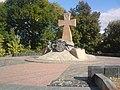 Пам'ятник українським козакам. панянський бульвар.JPG