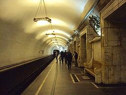 Перронный зал Станция Новокузнецкая 01