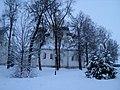 Преображенский собор Спасо-Евфимиева монастыря в Суздале сквозь деревья.JPG