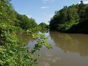 Pestrechinsky District - The Myosha River in Pestrechinsky District