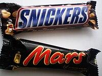Сникерс и Марс