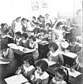 """הדסה ירושלים, חלוקת חלב בבתי הספר של """"אליאנס""""-ZKlugerPhotos-00132md-090717068512d372.jpg"""