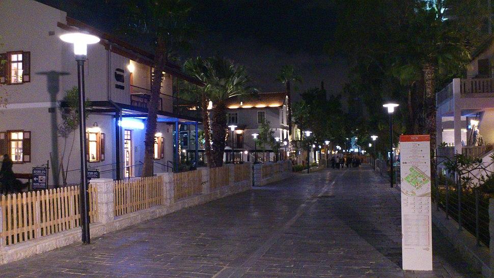 שרונה בלילה - 1