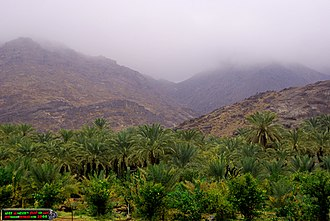 Shammar Mountains - The area of 'Uqdah on the outskirts of Ha'il