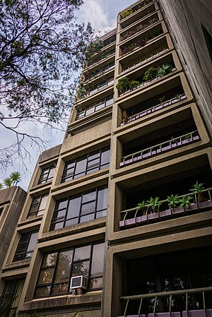 Sirius building - Exterior, looking up