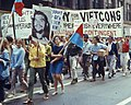 """""""Fight U.S. Imperialism"""" """"Victory for the Vietcong"""" """"Free All Anti-war G.I. Prisoners"""" """"Support Our GI's Bring Them Home Now"""" - 19680810 20 Anti-War March (cropped).jpg"""