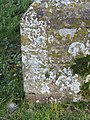 -2019-01-23 Benchmark on a buttress of Saint Mary's parish church, Kelling (1).JPG