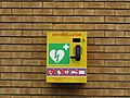 -2019-03-08 Defibrillator, Broads centre, Wroxham and Hoveton, Norfolk.JPG