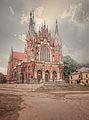 00340Kraków, zespół kościoła par. pw. św. Józefa, 1905-1909.jpg