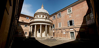 History of Italian Renaissance domes - The Tempietto in Rome.