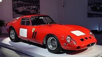 Ferrari 250 GTO - 1962 Ferrari 250 GTO, chassis 3851GT