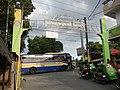 0164jfChurch San Isidro Holy Cross Halls Roads Caloocan Cityfvf 01.JPG