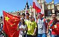 02016 1495 Teilnehmer des Weltjugendtages am Hauptmarkt von Krakau.jpg